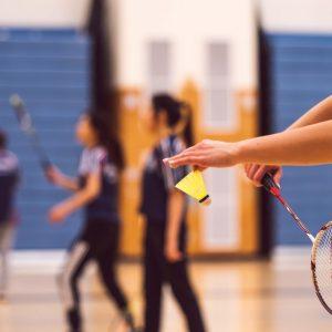 Badminton bei PiNAO